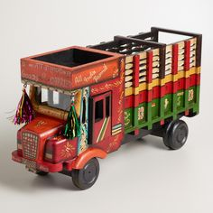 Too cute!   Indian Truck Decor | World Market