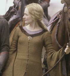 """Eowyn's awesome coat from """"The Two Towers""""."""