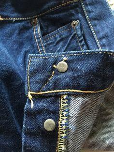 Vintage Levis 501xx Big E Redline Selvedge Hidden Rivet Denim Jean Sz 34x29 #Levis #ClassicStraightLeg