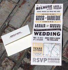 21 Unique Wedding Invitations and Save-the-Date Cards