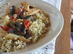Ízőrző: Zöldséges csirkemell quinoaval