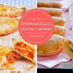 7 recetas de empanadillas saladas y dulces , 7 recetas de empanadillas dulces y saladas que os permitirán hacer múltiples variaciones, desde la clásica empanadilla de atún a empanadillas originales.