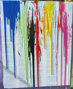 Kids Art: Dripping with Paint | Childhood101