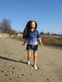 Lammily doll in Maine