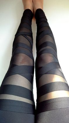 Leggings High Quality Tights Womens Tights Elastic $13.98 <3