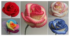 Today we are going to show you – how to Crochet Pretty Roses. Crochet Pretty Roses will be a great gift for every woman on birthday.