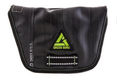 Green Guru Gear Breakaway Hip Upcycled Made in USA Pack Bag. Made in Colorado, Built in USA from upcycled, vegan materials like used bike tubes. A minimalist design keeps what you need at your fingertips. Light loop and Loops for belt or strap. Zippered pocket.