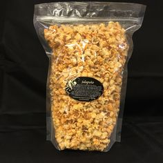 Jalapeno - hmsgp    Help this mom and pop store and buy some delicious and always fresh popcorn. The only place I will shop online for popcorn