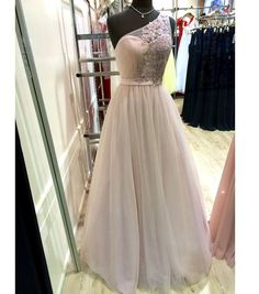 New Arrival Prom Dress,One shoulder prom dresses 2017,A-line