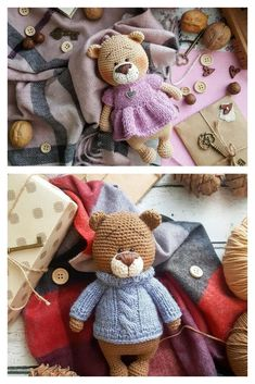 Crochet Teddy, Crochet Bear, Free Pattern, Crochet Patterns, Teddy Bear, Friends, Amigurumi, Amigos, Crochet Pattern