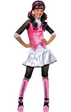 Child Monster High Draculaura Costume | Jokers Masquerade