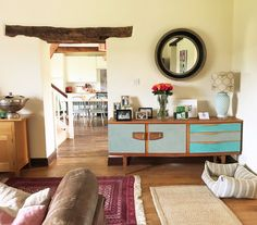 Farmhouse sitting room by Rascal & Roses