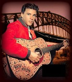 On December 31st, 1985, Rock & roll singer Ricky Nelson (45), five members of his Stone Canyon band, and his fiancée, were all killed when a fire broke out on board a DC-3 taking them to a New Year's Eve performance in Dallas, Texas. Only two people survived the crash landing near DeKalb, Texas. The fire was caused by a malfunctioning heater.