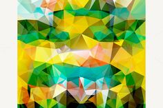 Set of Patterns of Geometric Shapes by robuart on Creative Market