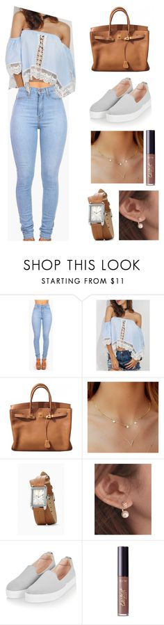 """""""Untitled #538"""" by cristiana-s ❤ liked on Polyvore featuring Vibrant, Hermès, Miss21 Korea, Topshop and tarte"""