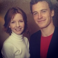 @thehughjackman tbt they've been letting him in places for years! #riffraff #fassbender at Chris A's house back in the day! #michaelfassbender