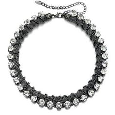 Buy Fiorelli Crystal Necklace at Spangle. Crystal Statement Necklace, Statement Jewelry, Pendant Necklace, Fiorelli, Body Jewellery, Large Crystals, Clear Crystal, Necklace Lengths, Costume Jewelry