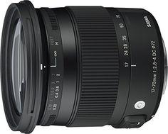 Sigma 17-70 mm f2,8-4,0 Objektiv (DC, Makro, HSM, 72 mm Filtergewinde) für Sony Objektivbajonett