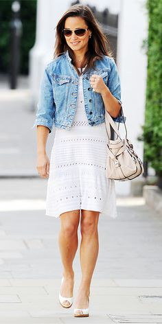 Pippa Middleton's Style - June 9, 2011 from #InStyle