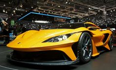 The #Apollo_Arrow_concept of Geneva 2016 will inspire a #production_model, set to be co-developed by #supercar_company Scuderia Cameron Glickenhaus (SCG) and on course to arrive sometime next year.