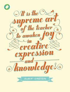Creative expression and knowledge