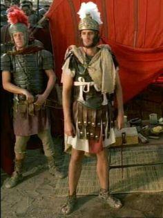 Close up of RA as praetorian guard officier Epiphanes.