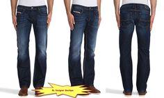 "DIESEL ""Zatiny"" Regular Boot Cut Dark Blue Jeans 0823G NEW NWT #DIESEL #BootCut"