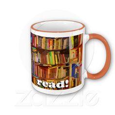 Read! Photo Coffee Mug http://jaxxisart.com