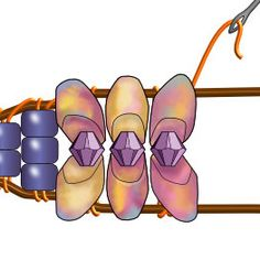Instructions for long Magatama beaded wrap bracelets Source by CarleneJaxBeach Wrap Bracelet Tutorial, Bracelet Wrap, Beaded Wrap Bracelets, Bracelet Crafts, Handmade Bracelets, Silver Bracelets, Crochet Bracelet, Pandora Bracelets, Beads Tutorial