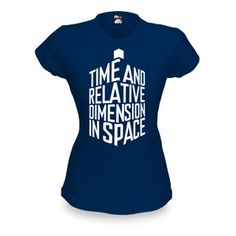 """The Doctor should wear this every time he tells people he has a TARDIS and they give him """"Bwah whaa?"""" looks.  Size: Large   $21.99"""