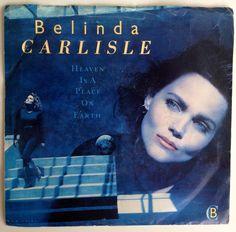 Belinda Carlisle - Heaven is a Place on Earth 7' Single 45 RPM Vinyl Record, MCA Records - MCA-53181, Pop, Rock, 1987, Original Pressing