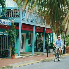 ride a bicycle in Key West
