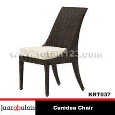 Canidea Chair Kursi Rotan Sintetis  KRT037