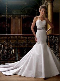 David Tutera For Mon Cheri 213242 Wedding Dress.