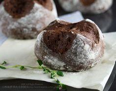 巧克力歐式麵包,蛋糕式健康新品種 | 小熊與廚房的非常關係