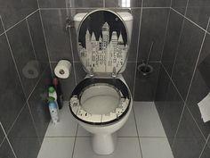 WC suspendu avec lave-mains WiCi Bati 1 sur 2 - M. V (avant)