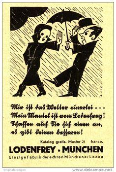 Original-Werbung/Inserat/ Anzeige 1932 - LODEN FREY MÜNCHEN  - ca. 70 x 110 mm