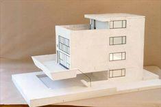 Le Corbusier, La maison Citrohan, 1922, l'architecte décline ici aussi le système dom-ino.