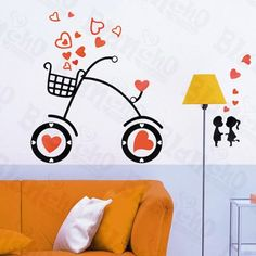 Romantic Couple Decorative Wall Stickers Appliques Decals Wall Decor Home Decor ** This is an Amazon Affiliate link. Read more at the image link.