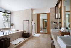 Lake View Villa Bathroom at Alila Anji