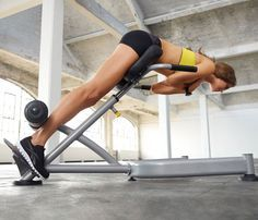5 Strength Machines Every Woman Should Use: Workouts: Self.com:We polled 100-plus top trainers for the weight room equipment that will get you fittest fastest and got the best moves to master.