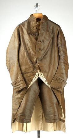 Suit  Date: late 18th century