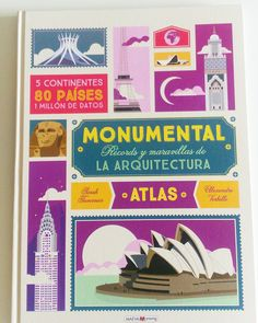 The Illustrated Atlas of Architecture and Marvelous Monuments : 5 Continents. 80 Countries (Little Gestalten) 48 S. 37 cm) by Illustration: Verhille, Alexandre/ Tavernier, Sarah Books 2016, New Books, Architecture Pdf, Figueras, Continents And Countries, Milan, Neuschwanstein Castle, Frank Gehry, Film Books