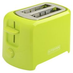 Add A Lime Green Toaster For More Lime Green Kitchen Appliances