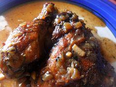 Brown Stew Chicken - Jamaican Recipes
