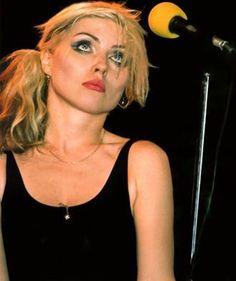 Deborah Harry lead singer of Blondie