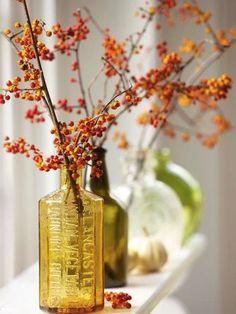 bouquet de baies d'automne  { Mary Posy aime ! }