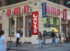 OMG, le bon plan Levi's pas cher à New York New York Travel Guide, New York City Travel, New York Pas Cher, Levis, Ville New York, Broadway, Voyage New York, New York Vacation, Jeans Levi's