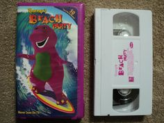 (VHS) Barney's Beach Party (Hula, Windsurfing, sail boating, kite flying & more) in DVDs & Movies, VHS Tapes | eBay