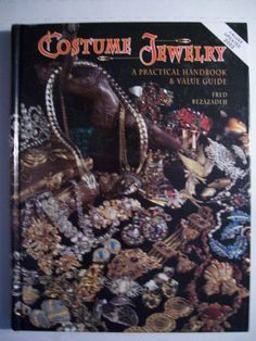 Vintage Costume Jewelry 2,200 Collector s Price Guide Book Hardback Color Pics